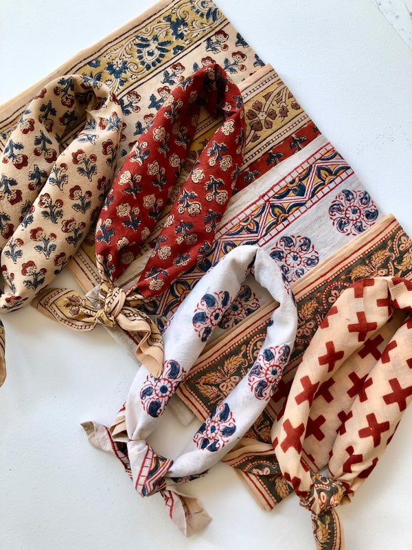 Les Indiennes Cotton Bandanas