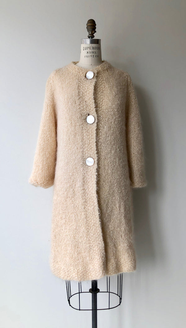 Hand Knit Cloud Coat