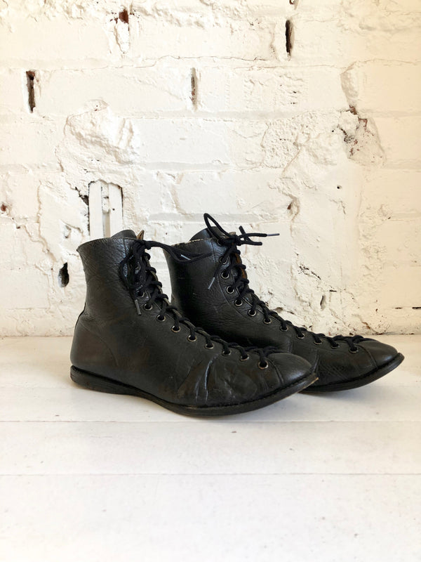 Vintage 1920s Boxing Boots