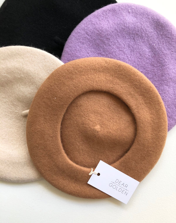 Winter Wool Berets