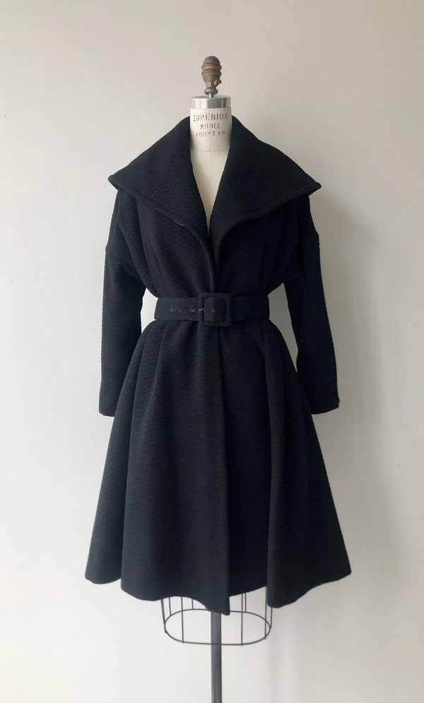 Goldwin Wool Peplum Coat