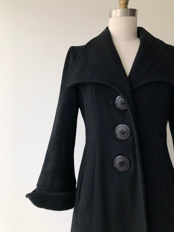 Dark Matter Wool Coat