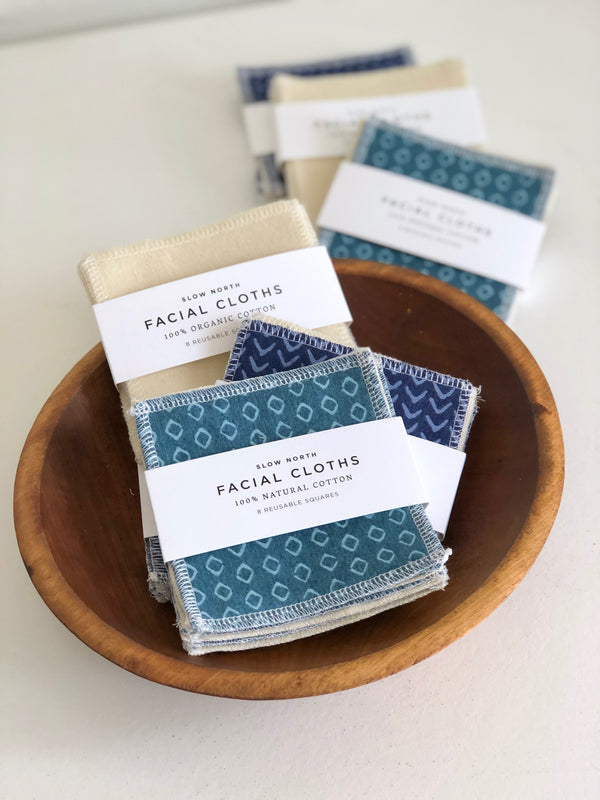 Reusable Cotton Facial Cloths