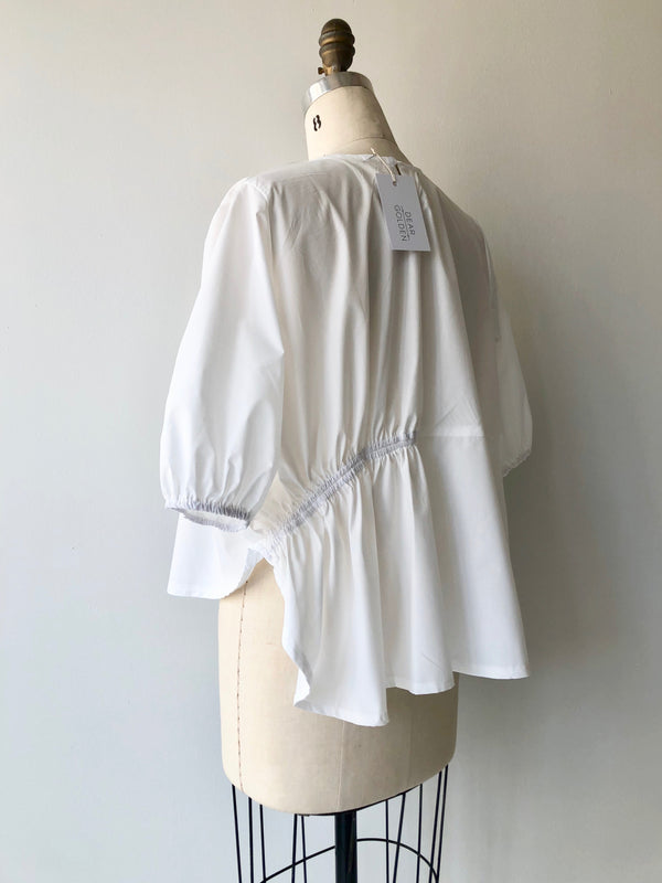 Sarti Cotton Poplin Blouse