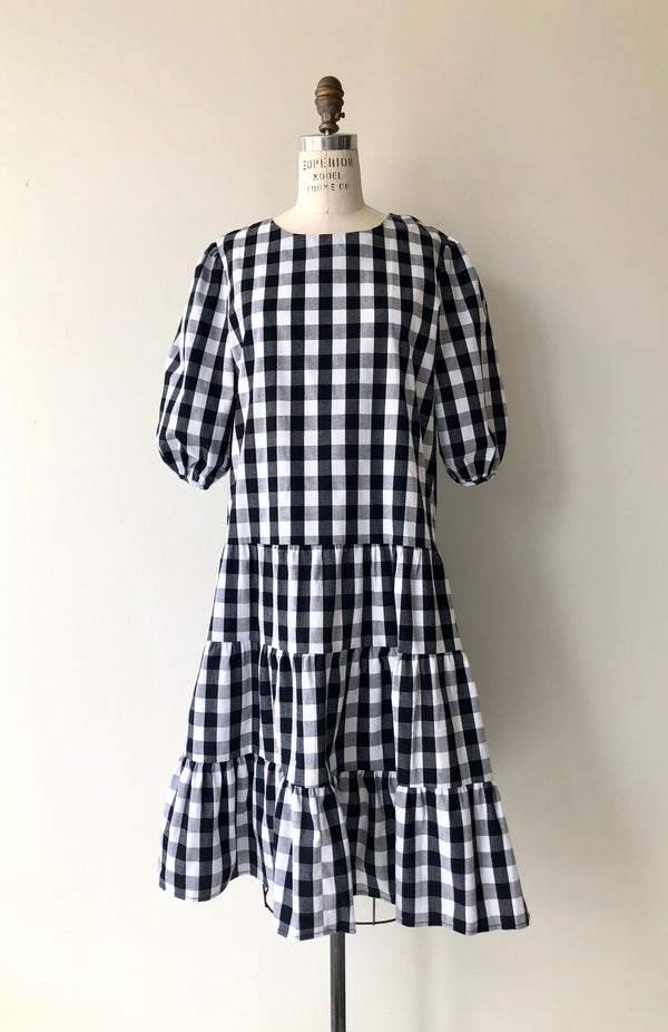 Neighborhood Gingham Cotton Dress