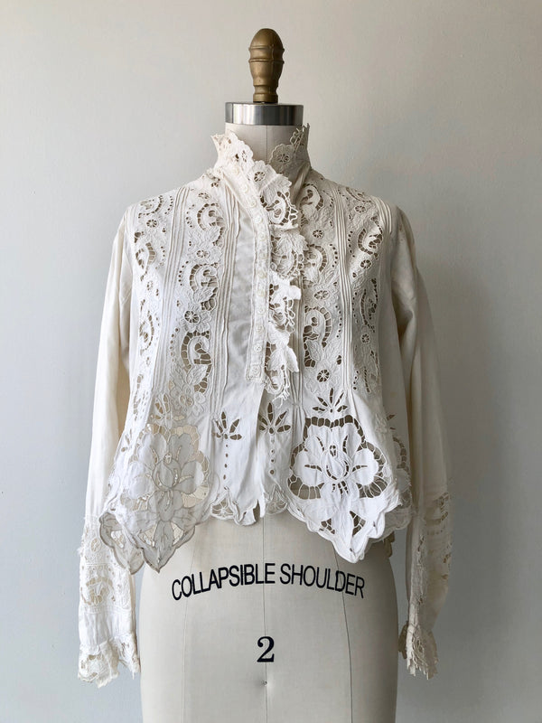 Matka Cutout Lace Blouse
