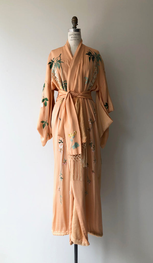 HOLD FOR TRISTEN || Antique Silk Kimono
