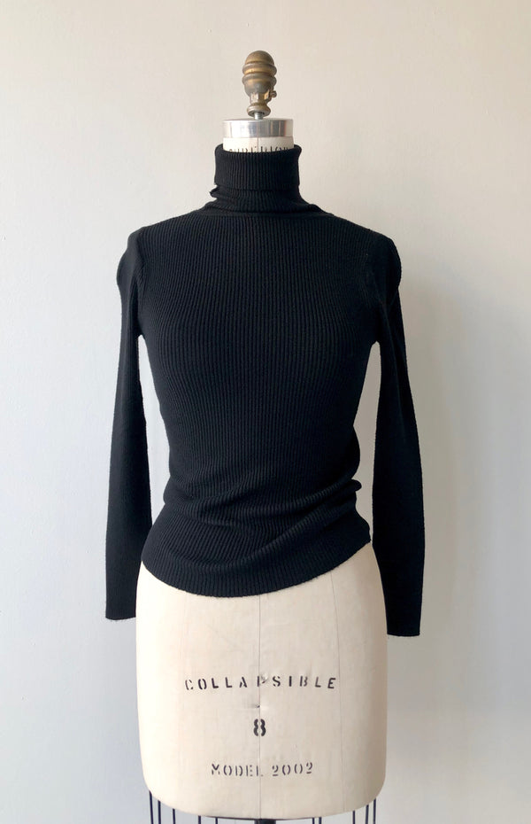 Softie Ribbed Turtleneck