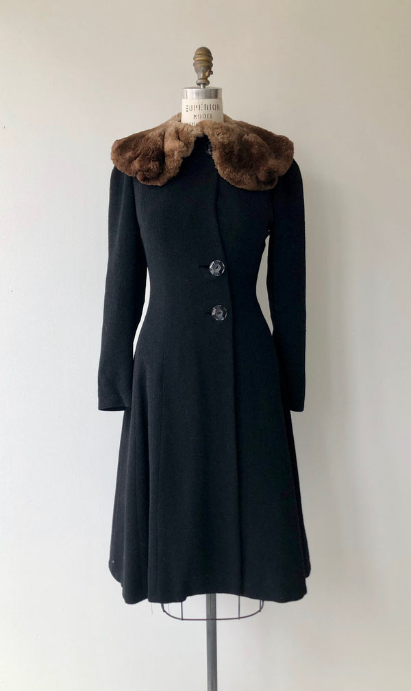 Montmartre 1930s Wool Coat