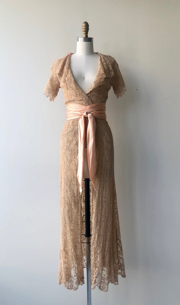 Antique Lace Dressing Gown