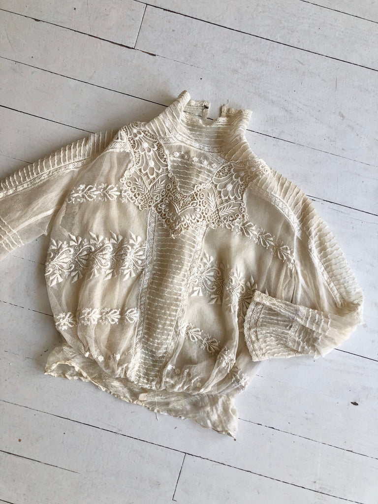 Evangeline Antique Edwardian Shirtwaist