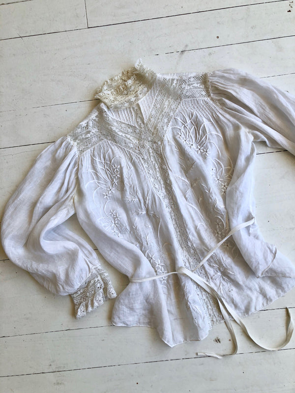 Antique Edwardian Shirtwaist