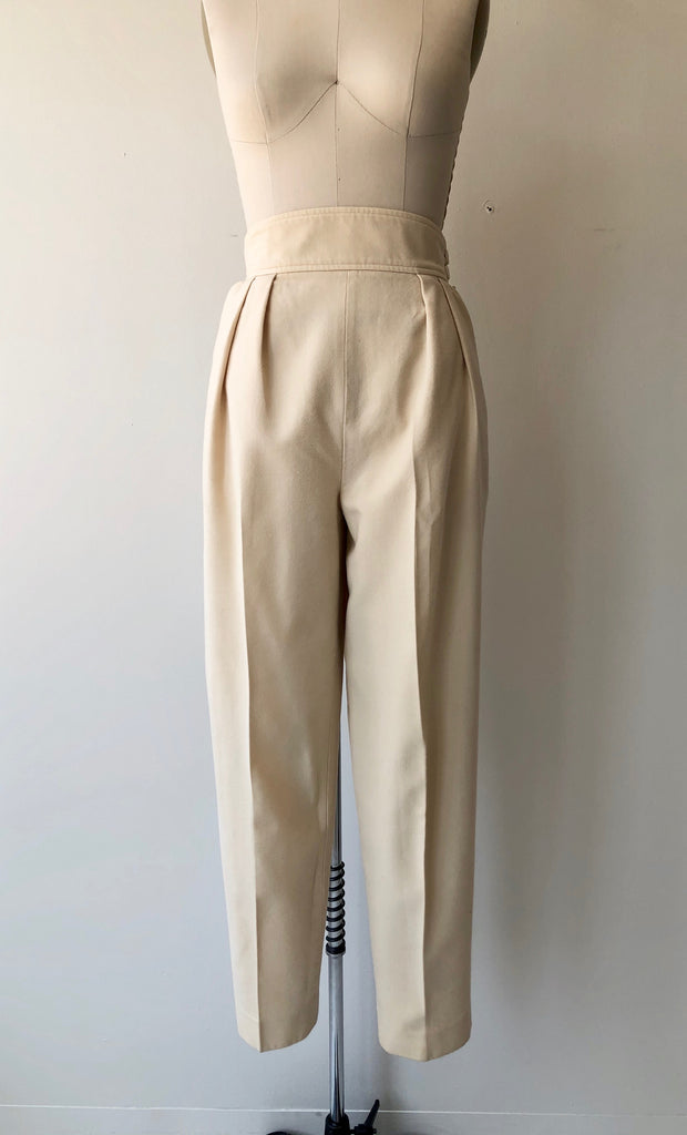 Yves St. Laurent Wool Trousers