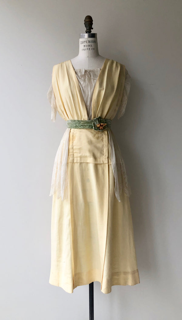 Late Edwardian Spring Dress