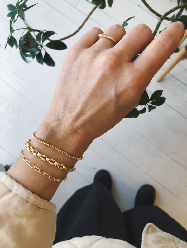 Petite Gold Bracelet Collection