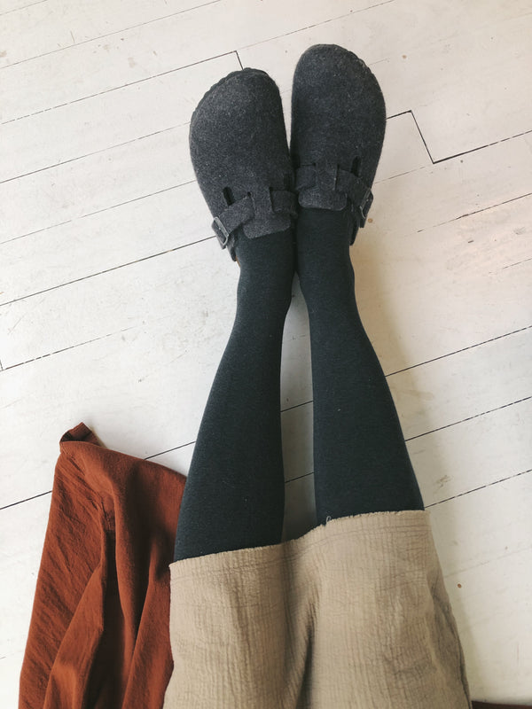 Tabitha Cotton Tights | Neutrals