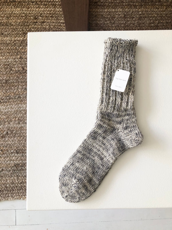Linen Cotton Socks | Fog Linen Work