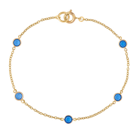 18ct Gold Plated Swarovski Crystal Bracelet