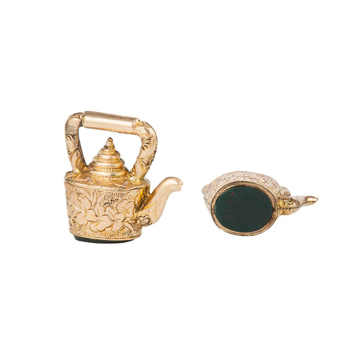 Victorian 9ct Gold Kettle Charm