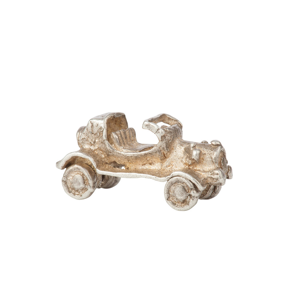 1960s Vintage Sterling Silver Car Charm