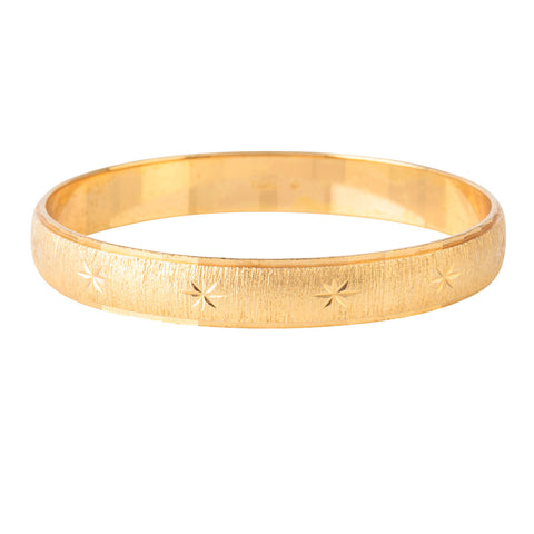 1970s Vintage Monet Textured Bangle