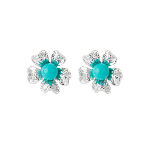 1960s Vintage Sarah Coventry Faux Turquoise Earrings