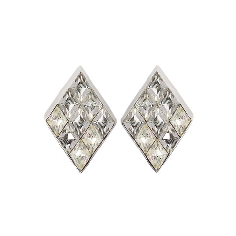 1970s Vintage Trifari Crystal Earrings