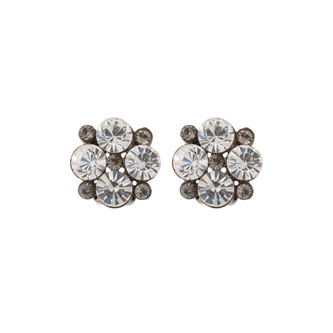 1980s Vintage Givenchy Crystal Earrings