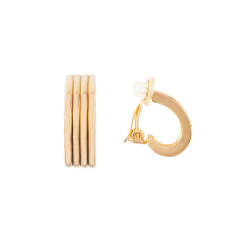 1980s Vintage Nina Ricci Hoop Earrings