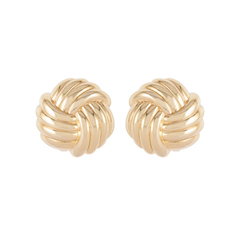 1980s Vintage Christian Dior Knot Earrings