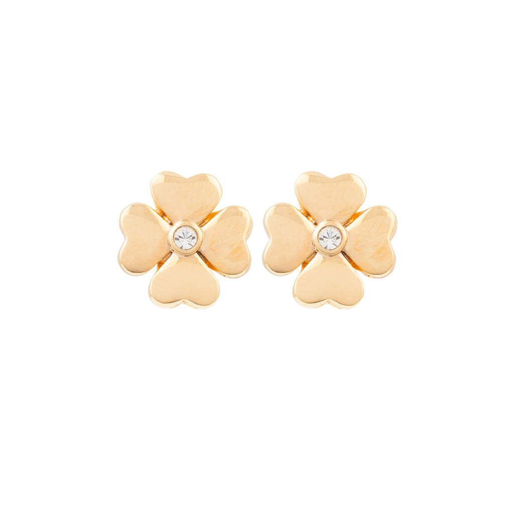 1980s Vintage Flower Earrings