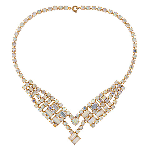 1950s Vintage Crystal Necklace