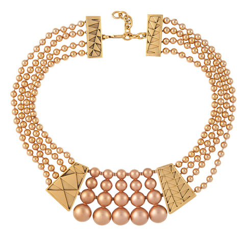 1980s Vintage Monet Statement Necklace