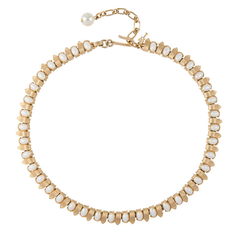 1960s Vintage Trifari Faux Pearl Necklace