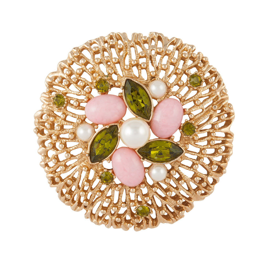 1970s Vintage Sarah Coventry Brilliant Brooch
