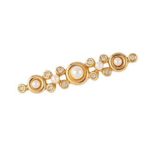 1980s Vintage Christian Dior Bar Brooch