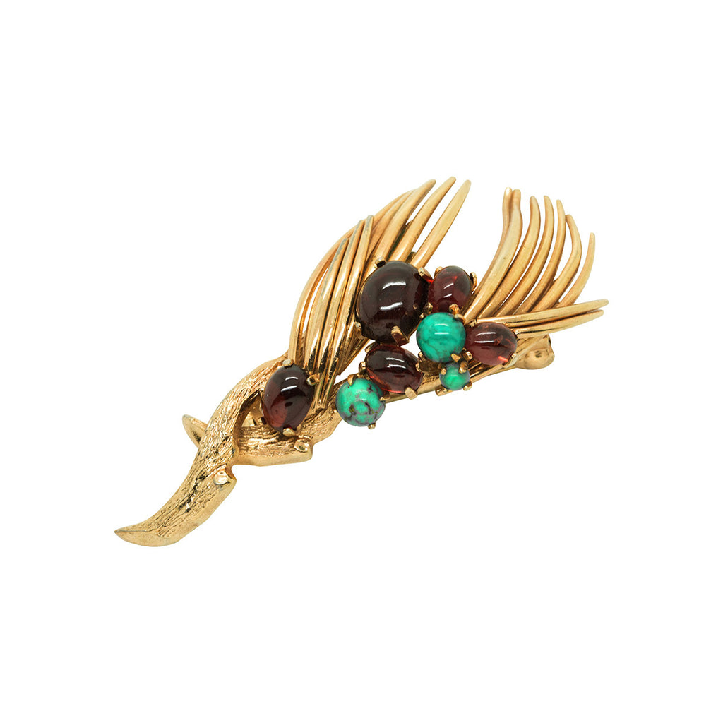 1962 Vintage Grosse Stylised Brooch