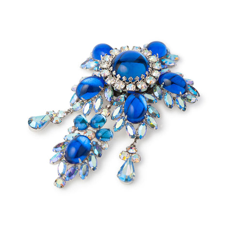 1960s Vintage Vendome Crystal Brooch