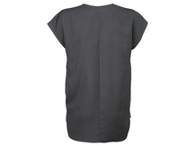 Load image into Gallery viewer, YAYA OVERSIZED WOVEN V-NECK TEE