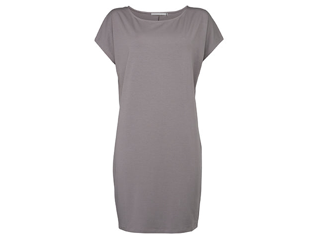 YAYA PLAIN BOXY DRESS
