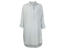 Load image into Gallery viewer, YAYA Oversized blouse dress w jacquard stripe