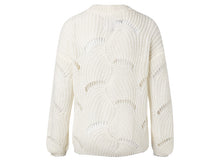 Load image into Gallery viewer, YAYA OPEN CABLE KNIT SWEATER