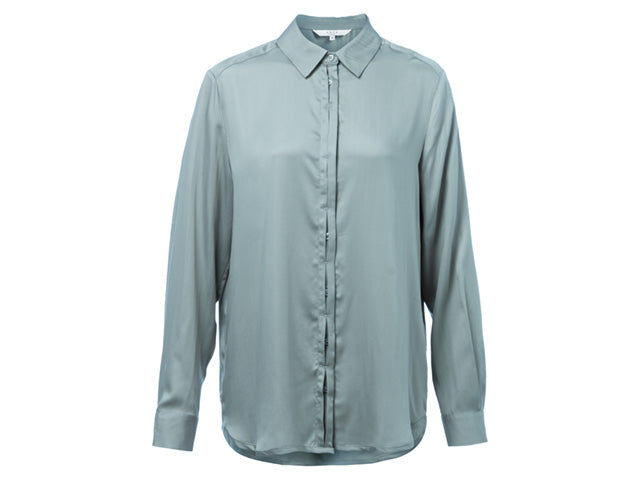 YAYA BLOUSE W. HIDDEN PLACKET