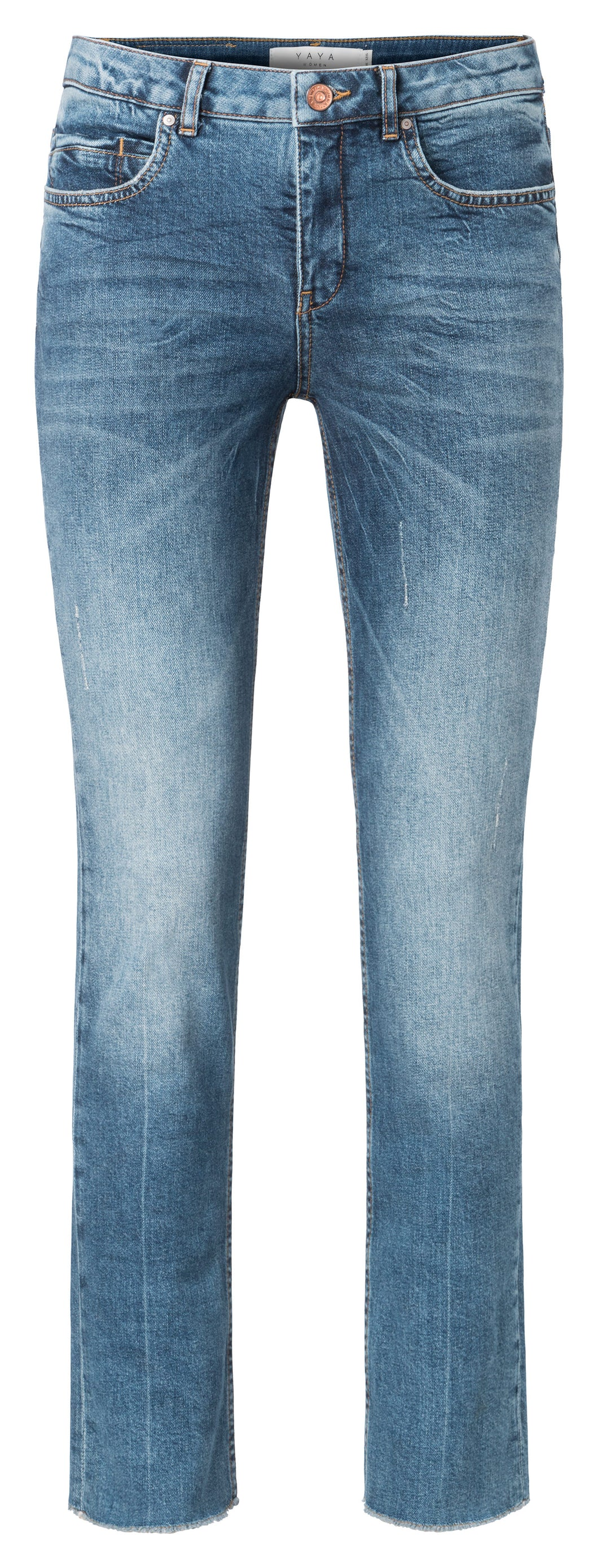 YAYA BASIC STRAIGHT DENIM