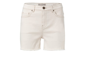 YAYA OFF WHITE DENIM SHORT