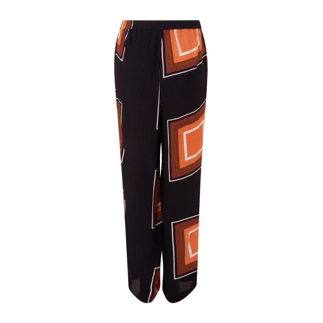 COSTER Pants with Square Dot Print