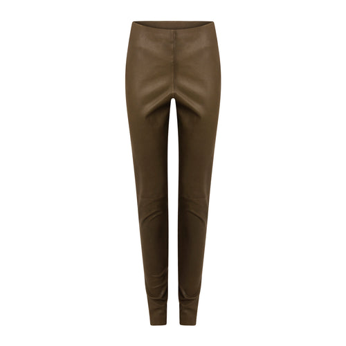 COSTER  100% Stretch Leather Leggings