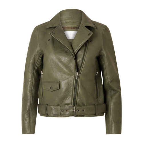 COSTER  Leather biker jacket