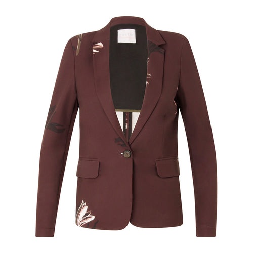 COSTER  Suit jacket in blossom print