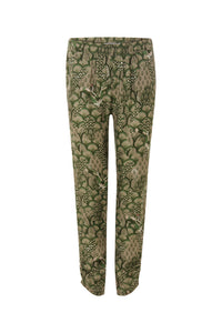 COSTER Cupro pants w. japanese waves